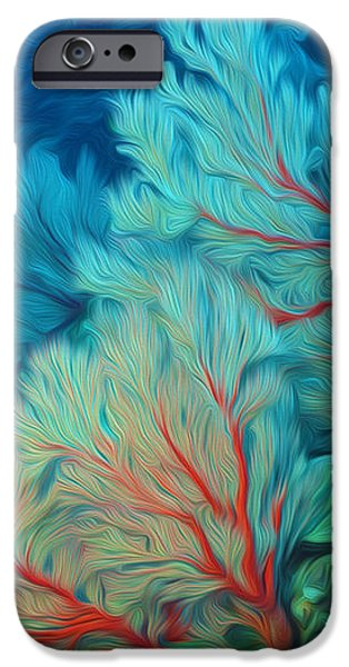 Beautiful Sea fan coral 1 iPhone Case by Lanjee Chee
