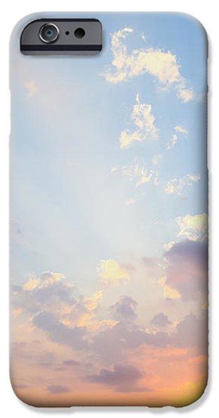 Beautiful Tropical Sunset iPhone Case by Nila Newsom