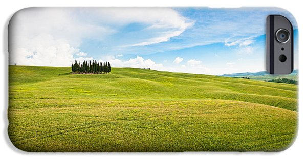 Chianti Hills iPhone Cases - Beautiful Tuscany iPhone Case by JR Photography