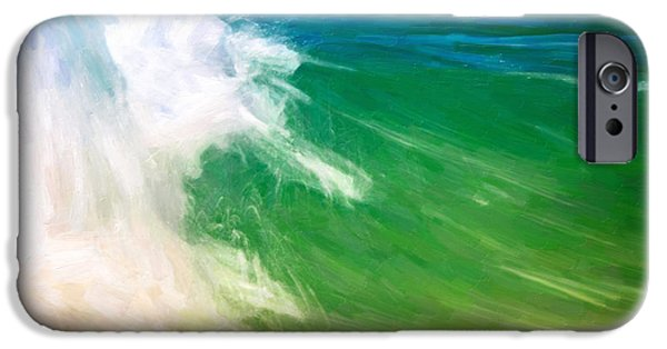 Heisler Park iPhone Cases - Beautiful Wave iPhone Case by Vicki Jauron