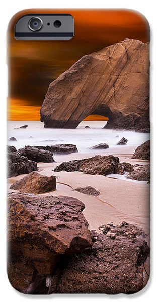 Red Rock iPhone Cases - Beauty essence iPhone Case by Jorge Maia