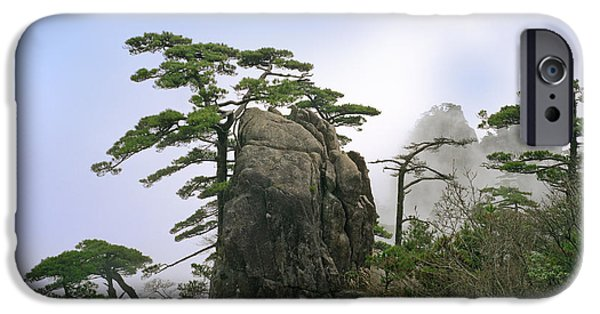 Fog Mist iPhone Cases - Beauty In Nature iPhone Case by King Wu