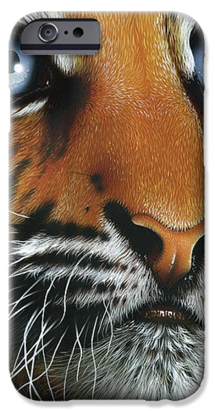 Beauty of my Mother's Eyes iPhone Case by Jurek Zamoyski