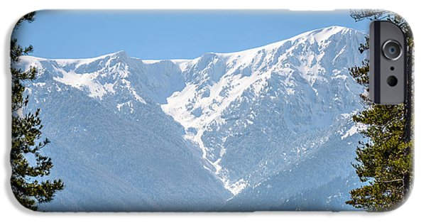 Winter Scene iPhone Cases - Beauty of Nature iPhone Case by Sotiris Filippou
