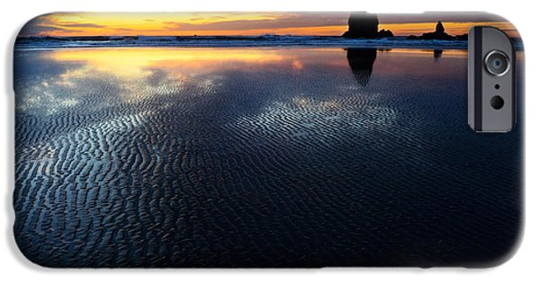 Sandcastles iPhone Cases - Beauty Of Oregon Cannon Beach 1 iPhone Case by Bob Christopher