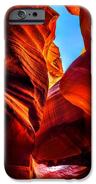 Shape iPhone Cases - Beauty Within iPhone Case by Az Jackson