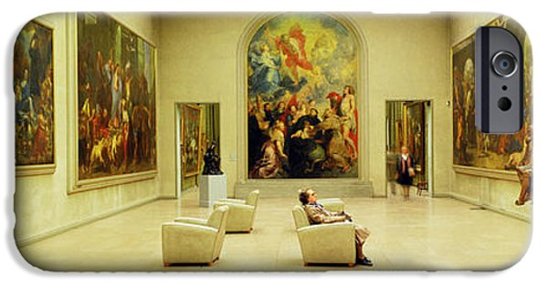 Lyon iPhone Cases - Beaux Arts Museum Lyon France iPhone Case by Panoramic Images