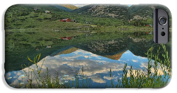 Beaver Lake iPhone Cases - Beaver Lake Wildflowers iPhone Case by Adam Jewell