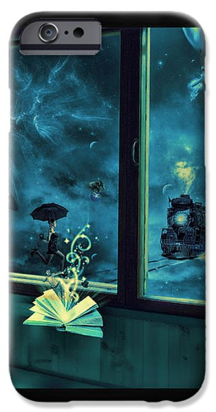 Bedtime Stories iPhone Case by Erik Brede