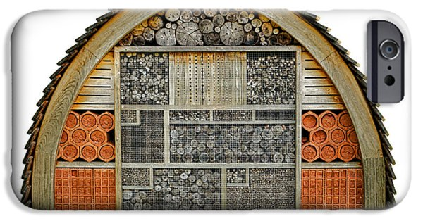 Component iPhone Cases - Bee Hotel iPhone Case by Olivier Le Queinec