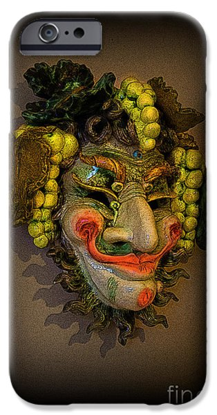 Serpent iPhone Cases - Beelzebub III iPhone Case by Al Bourassa
