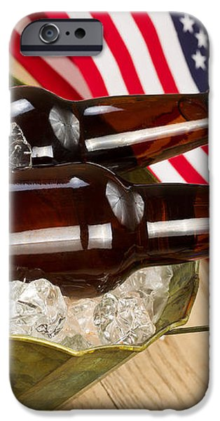 Beer for the American Independence Holiday  iPhone Case by Tom  Baker