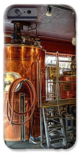 Beer - The Brew Kettle iPhone Case by Paul Ward