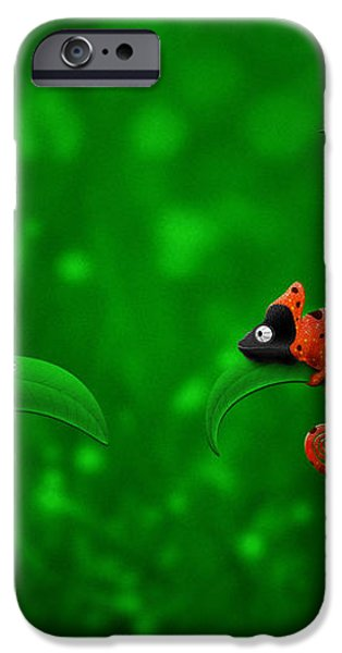 Beetle Chameleon iPhone Case by Gianfranco Weiss