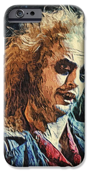 Recently Sold -  - Creepy iPhone Cases - Beetlejuice iPhone Case by Taylan Soyturk
