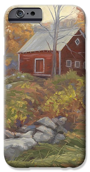 Fall iPhone Cases - Before Sunrise iPhone Case by Lucie Bilodeau