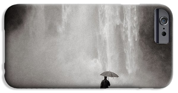 Umbrella iPhone Cases - Before the Fall iPhone Case by Dave Bowman
