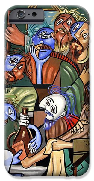 Before The Last Supper iPhone Case by Anthony Falbo
