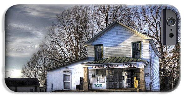 Country Store iPhone Cases - Before Walmart iPhone Case by Benanne Stiens