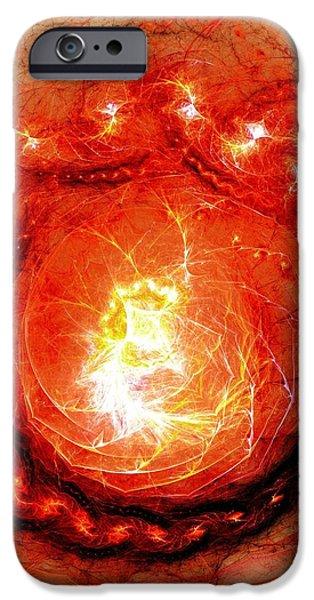 Beginning of Life iPhone Case by Anastasiya Malakhova