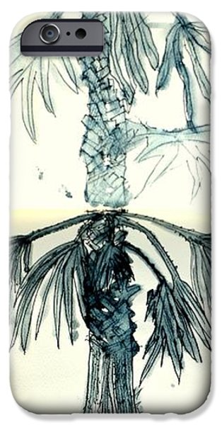 Pen And Ink iPhone Cases - Beginnings iPhone Case by Antonia Citrino