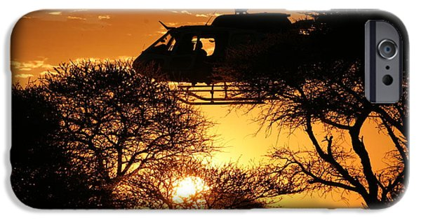 Police Art iPhone Cases - Behind a Tree  iPhone Case by Paul Job
