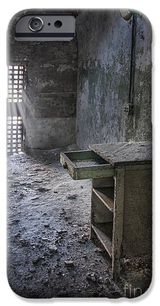 Punishment iPhone Cases - Behind The Bars iPhone Case by Evelina Kremsdorf
