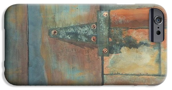 Boardroom Mixed Media iPhone Cases - Behind the Door iPhone Case by David Raderstorf