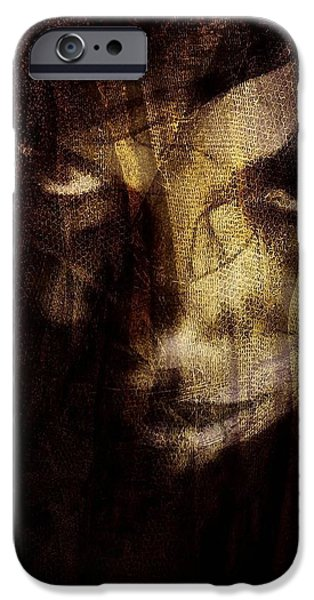 Behind the veil iPhone Case by Gun Legler