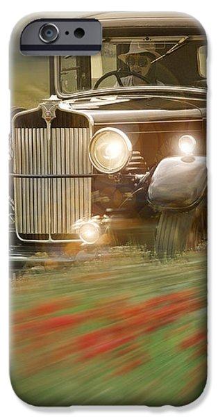 Behind the Wheel iPhone Case by Edmund Nagele