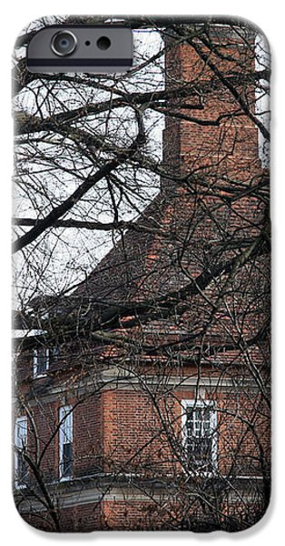 Behind Trees -- The British Ambassador's Residence iPhone Case by Cora Wandel