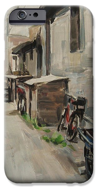 Beijing Hutong iPhone Case by Annie Salness