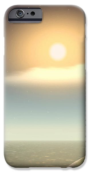 Business Digital Art iPhone Cases - Being There iPhone Case by Wendy J St Christopher