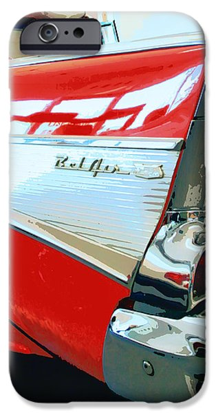 BEL AIR Palm Springs iPhone Case by William Dey
