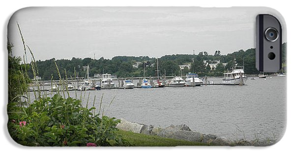 Midcoast iPhone Cases - Belfast Maine 2 iPhone Case by Bruce Fleming