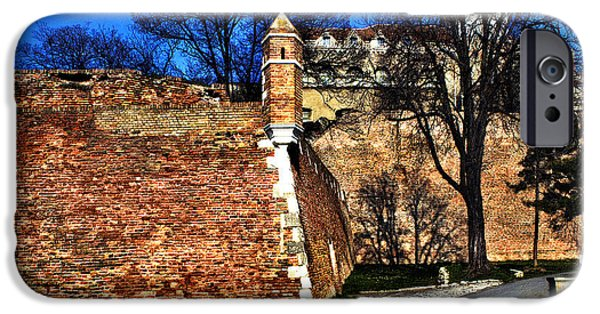 Historic Site Mixed Media iPhone Cases - Belgrade Fortress iPhone Case by Milan Karadzic