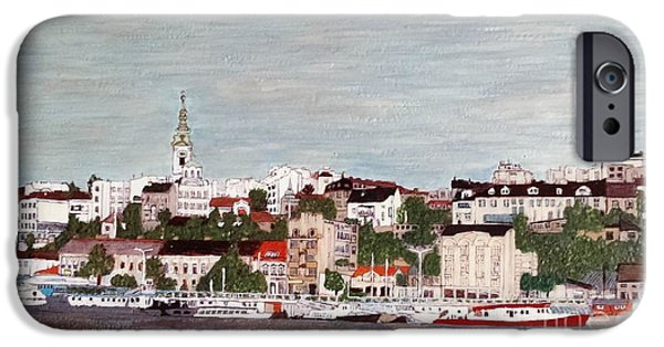 Fabulous Gifts iPhone Cases - Belgrade Serbia iPhone Case by Jasna Gopic