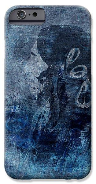 Supernatural Digital Art iPhone Cases - Belief iPhone Case by Jack Zulli