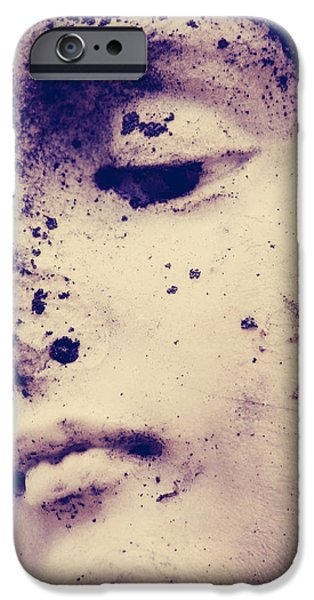 Fallen Angels iPhone Cases - Believe The Grief iPhone Case by Jerry Cordeiro