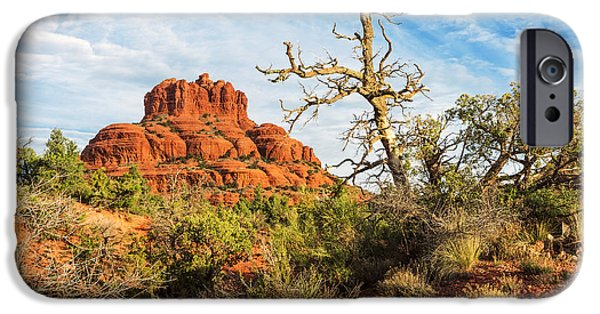 Cathedral Rock iPhone Cases - Bell Rock - 2 iPhone Case by Alex Mironyuk