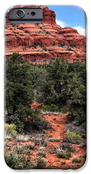 Sedona iPhone Cases - Bell Rock iPhone Case by John Rizzuto