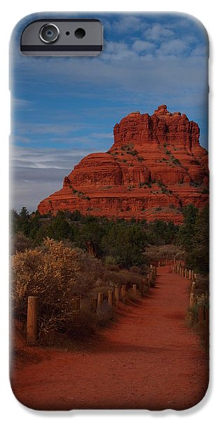 Oak Creek iPhone Cases - Bell Rock iPhone Case by James Peterson