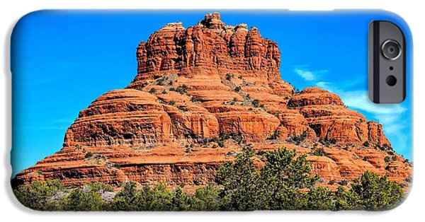Oak Creek iPhone Cases - Bell Rock Tower iPhone Case by Jon Burch Photography