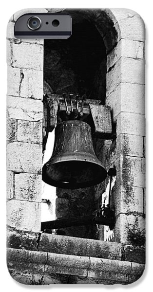 Bell Tower Valbonne Abbey iPhone Case by Christine Till