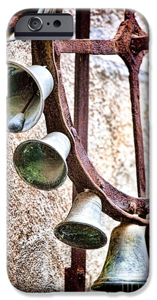 Bells in Sicily iPhone Case by David Smith