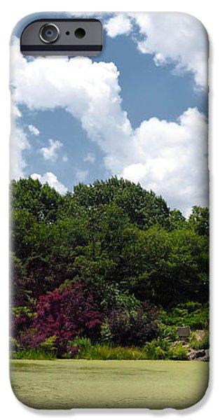 Belvedere Castle Turtle Pond Central Park iPhone Case by Amy Cicconi