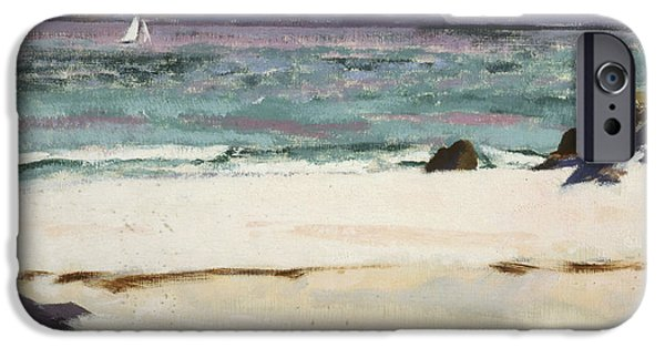 Colorist iPhone Cases - Ben Bhuie from the North End   Iona iPhone Case by Francis Campbell Boileau Cadell
