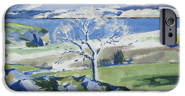 Twentieth Century iPhone Cases - Ben Cruachan from Achnacraig iPhone Case by Francis Campbell Boileau Cadell