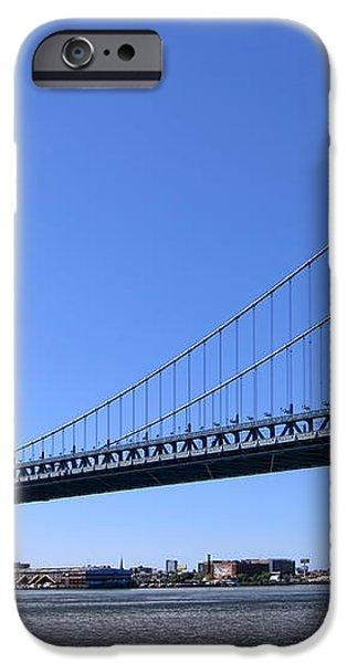 Ben Franklin Bridge iPhone Case by Olivier Le Queinec