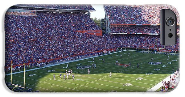 Florida Gators iPhone Cases - Ben Hill Griffin Stadium iPhone Case by Nomad Art And  Design